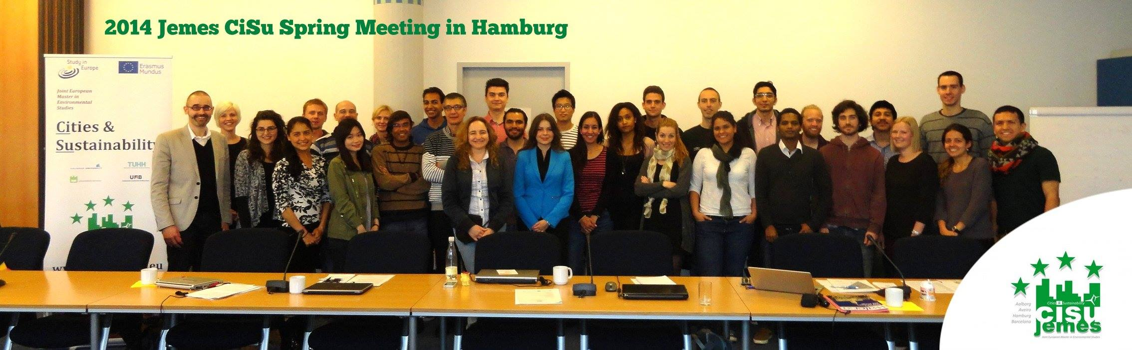JEMES CiSu Spring Meeting Hamburg 2014